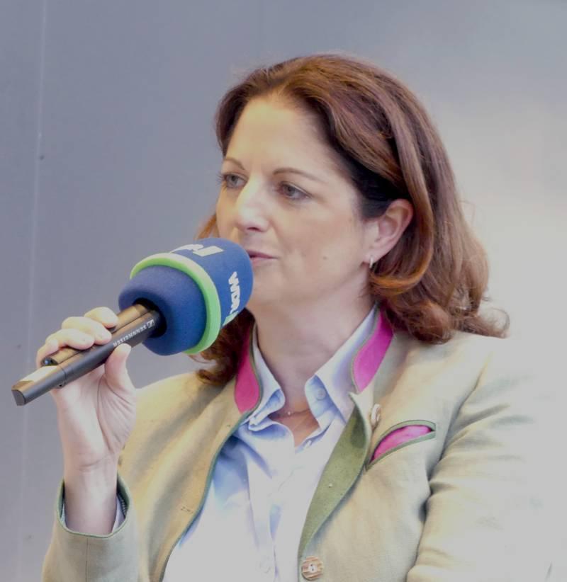 Nicole Heitzig, Präsidentin des Landesjagdverbands Nordrhein-Westfalen (Foto: LJV NRW)