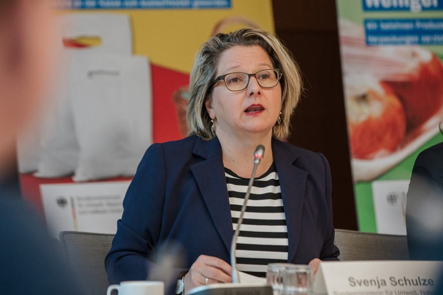 Bundesumweltministerin Svenja Schulze