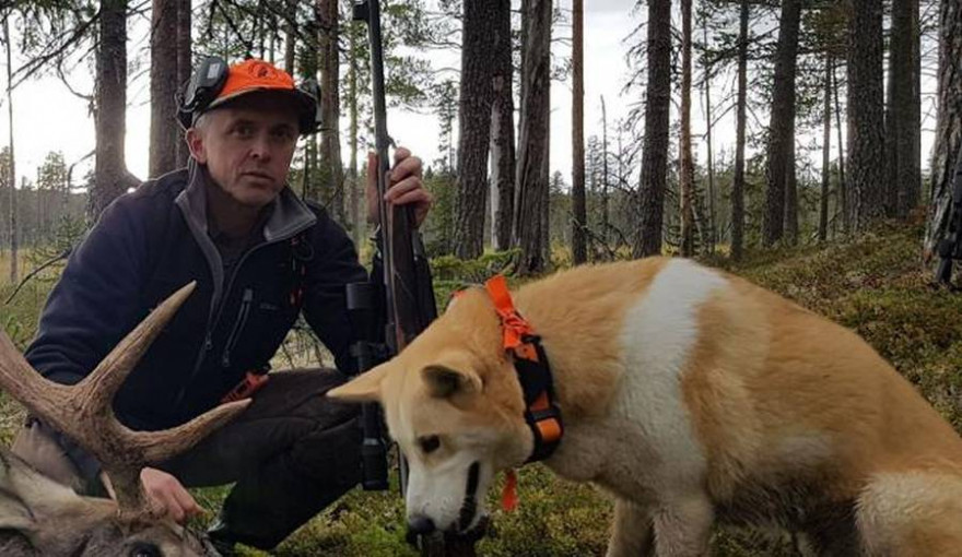 Wildökologe Fredrik Widemo von der Schwedischen Universität für Agrarwissenschaften (Quelle: Widemo/DJV)
