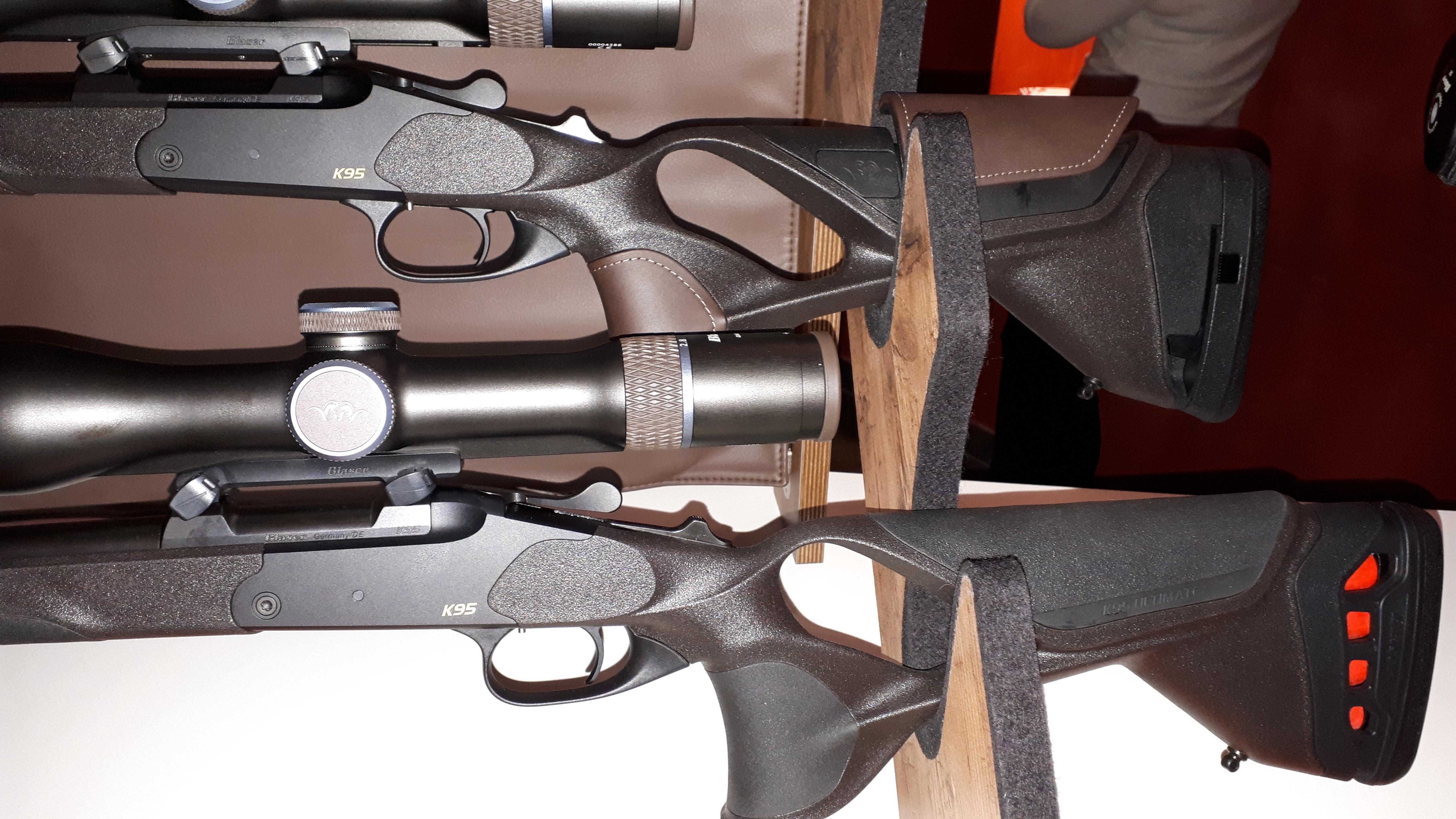 "Kipplaufbüchse K95 als Version ""Ultimate"" und ""Ultimate Leather"" (Foto: mlz)"