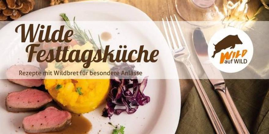 """Von traditionell bis modern: Die Broschüre """"Wilde Festtagsküche"""" bietet kreative Rezepte. (Quelle: DJV)"""