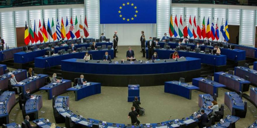 Plenarsaal des Europäischen Parlaments in Strasbourg (Quelle: Europäisches Parlament)