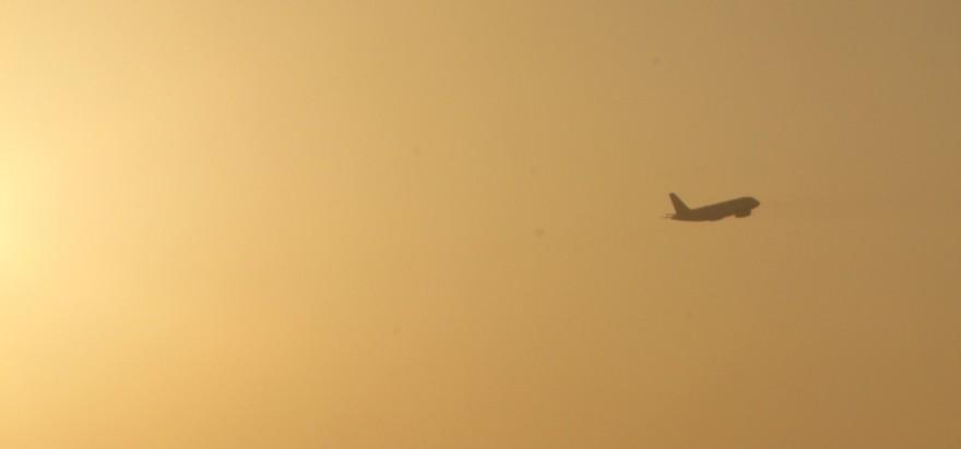 Abendsonne am Köln-Bonner Flughafen