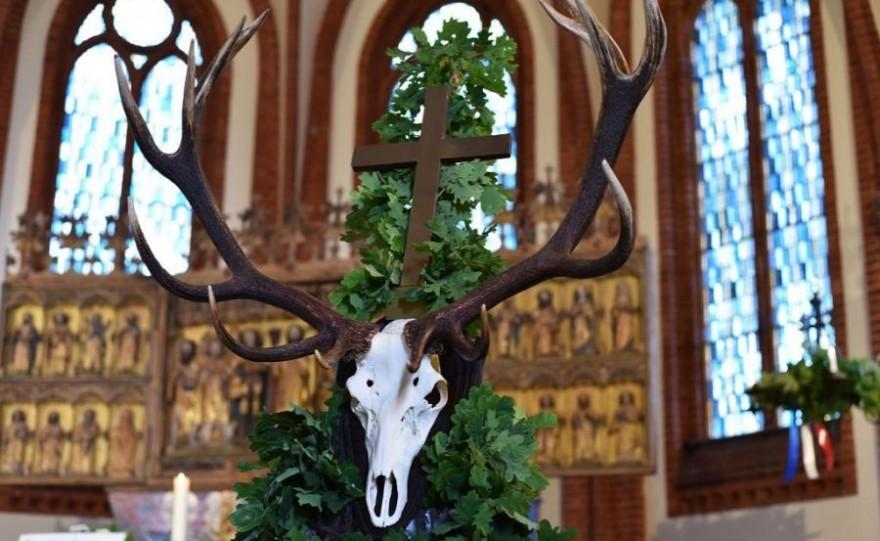 Symbol des Heiligen Hubertus