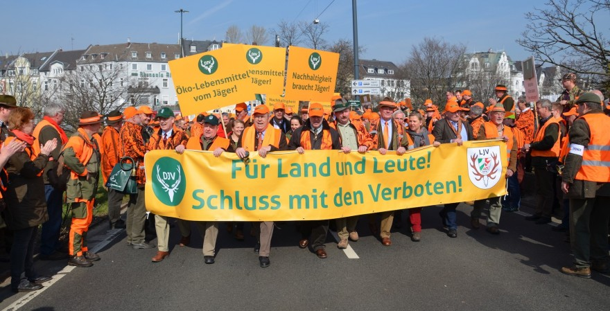 Jägerdemo in NRW