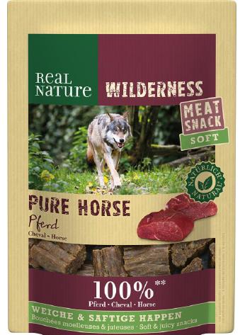 REAL NATURE Wilderness Soft Snack Pferd 150 g