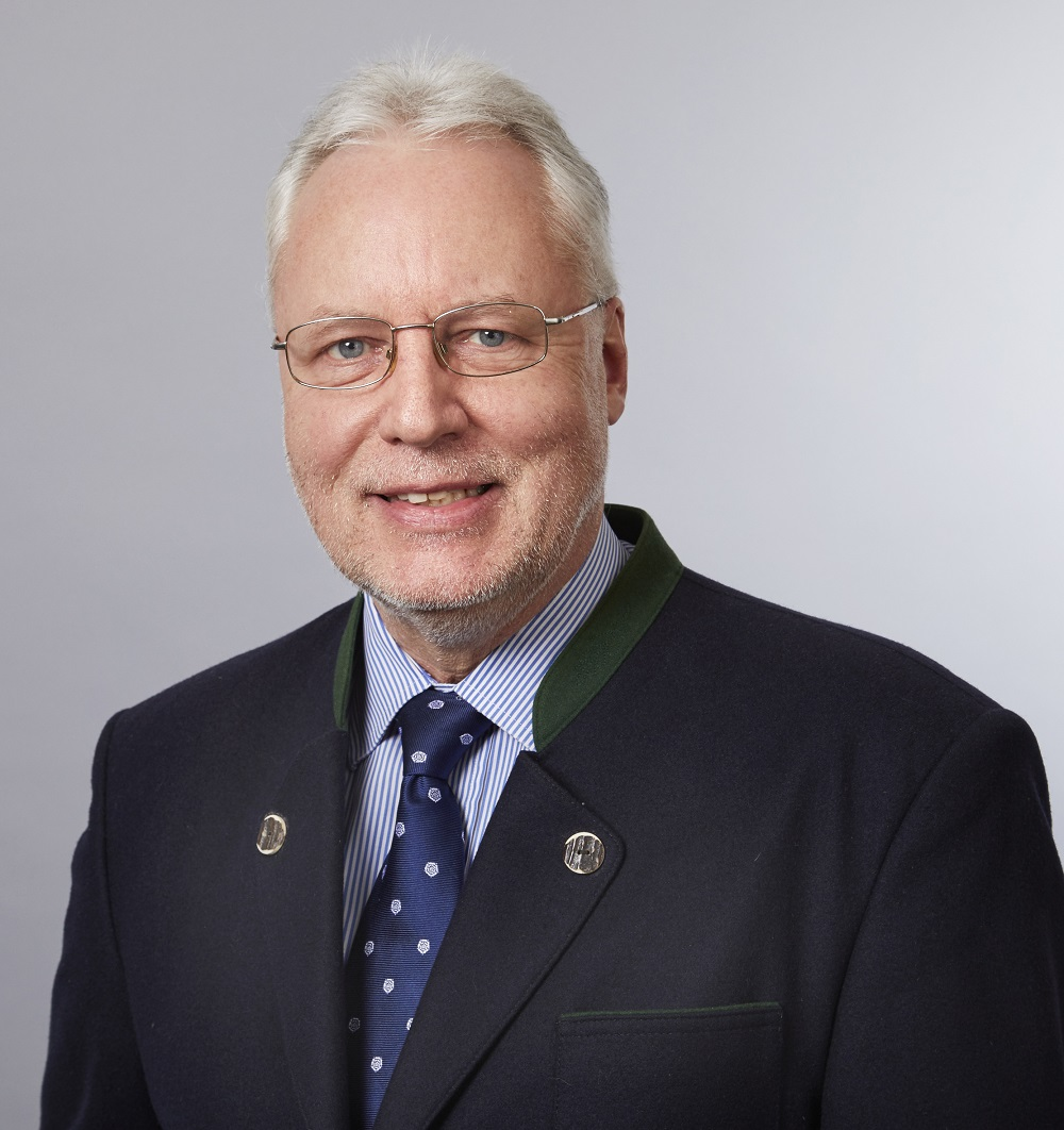 Wolfgang Heins, Präsident des Landesjagdverbandes Schlesig-Holstein e.V.