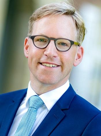 Marc Henrichmann, Vorsitzender der Jägerstiftung natur + mensch (© CDU Kreisverband Coesfeld/teamfoto MARQUARDT GmbH)