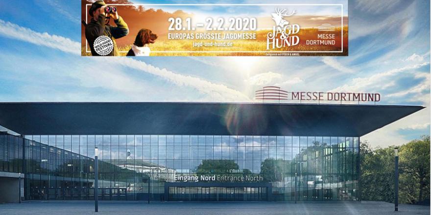 Das neue Eingangsportal der Messe Dortmund.