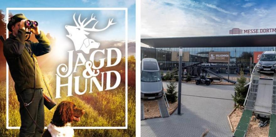 Logo und Impression der Messe JAGD & HUND (Foto: Messe Dortmund GmbH