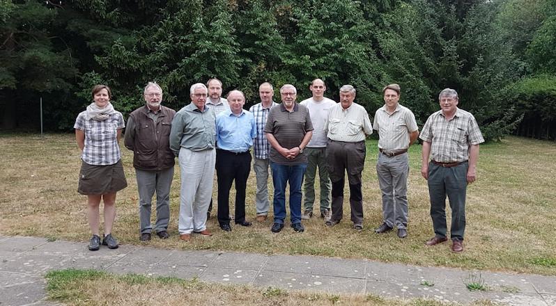 Foto: JGHV / Mitglieder der Gründungsveranstaltung