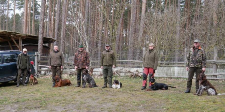 Die ersten sechs Hunde-Gespanne beginnen am Dienstag die einmonatige Ausbildung. (Quelle: LJVB)