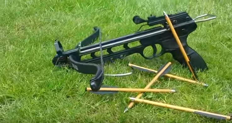 Symbolbild: Mit einer vergleichbaren Waffe wurde die Taube wahrscheinlich beschossen.Quelle: YouTube_The Weapon Channel
