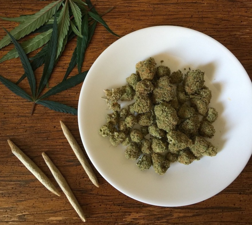 Joints und Cannabis
