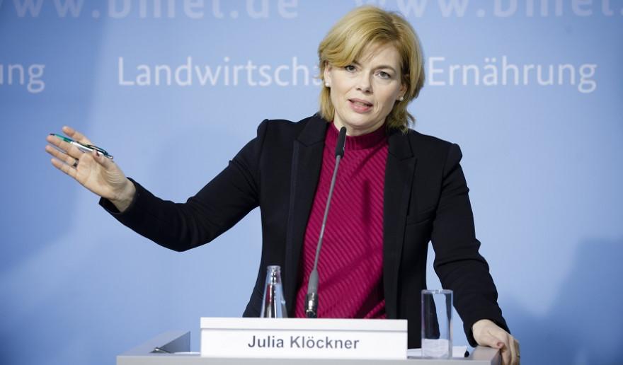 Bundeslandwirtschaftsministerin Julia Klöckner (CDU) Quelle: BMEL/Photothek