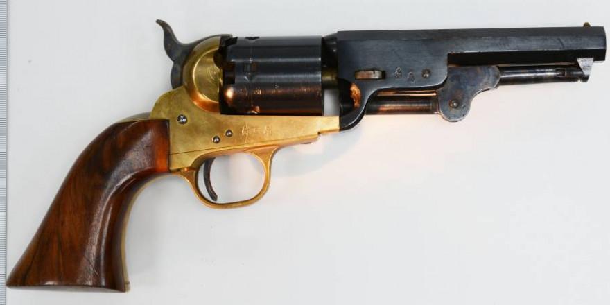 US-amerikanischer Armee-Colt im Kaliber .36 (Foto: Polizei)