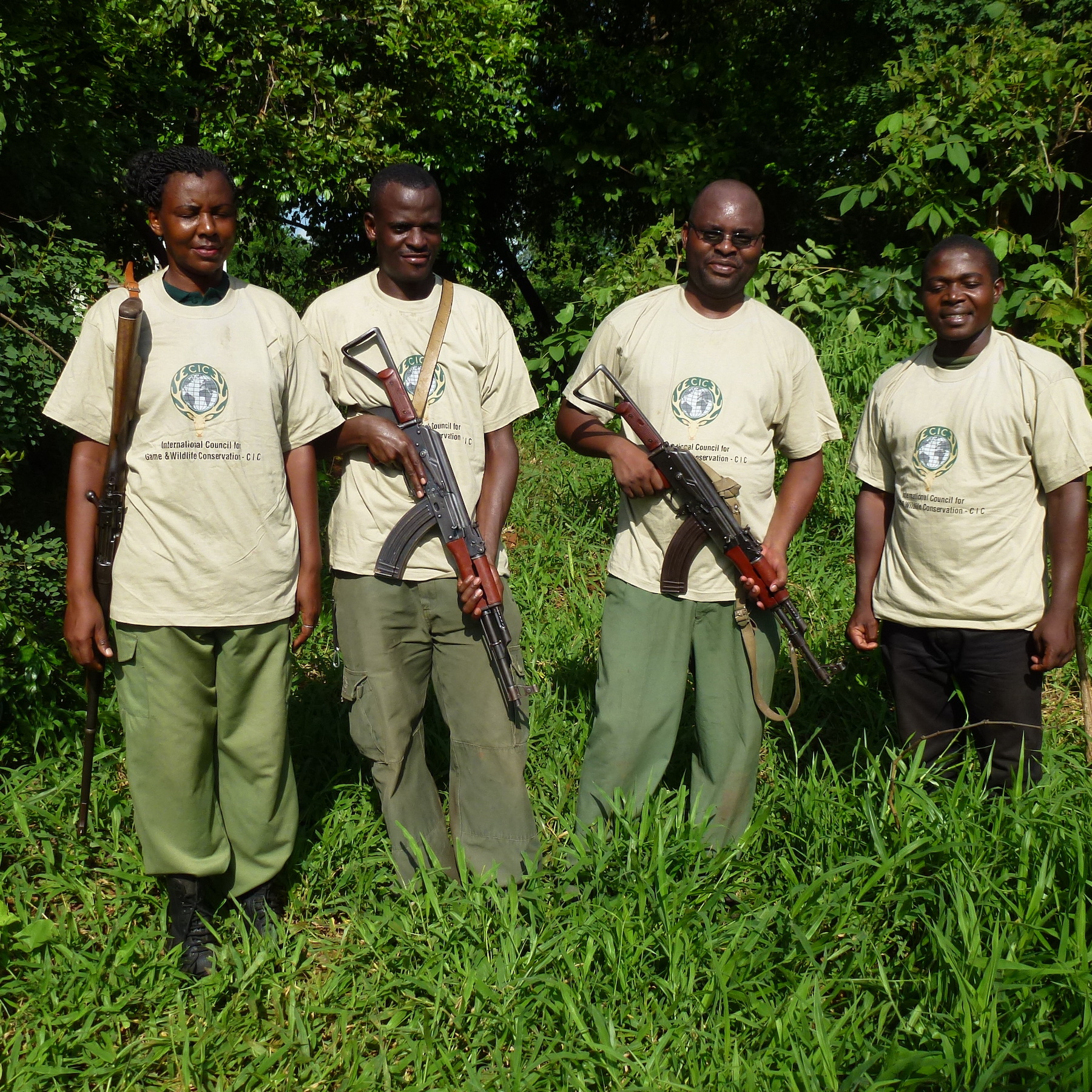 Foto: Dr. Rolf Baldus / Ranger im Selous – unterstützt durch Einnahmen aus dem Jagd-Tourismus.