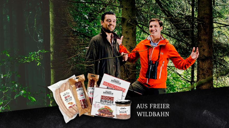 Die Gründer des Startups WILDER HEINRICH Falk Trompeter (li.) und Sebastian Lenger (re.) (Foto: © WILDER HEINRICH)
