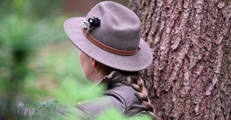 Für Jägerinnen und Jäger nichts neues: Ein Aufenhalt im Grünen tut Körper, Geist und Seele gut. (Quelle: Kaufmann/DJV)
