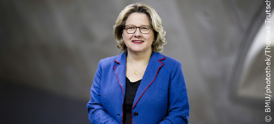 Bundesumweltministerin Svenja Schulze Foto: BMU/photothek/Thomas Trutschel