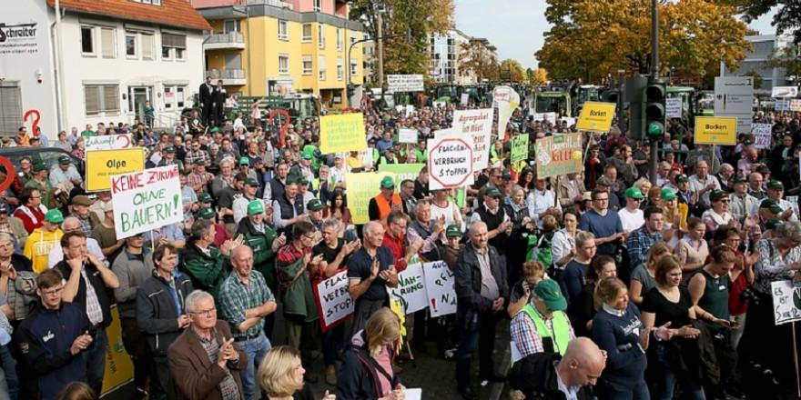 Bauern-Demonstration