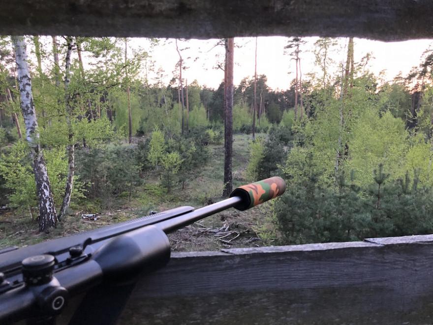 Schalldämpfer bei der Jagdausübung