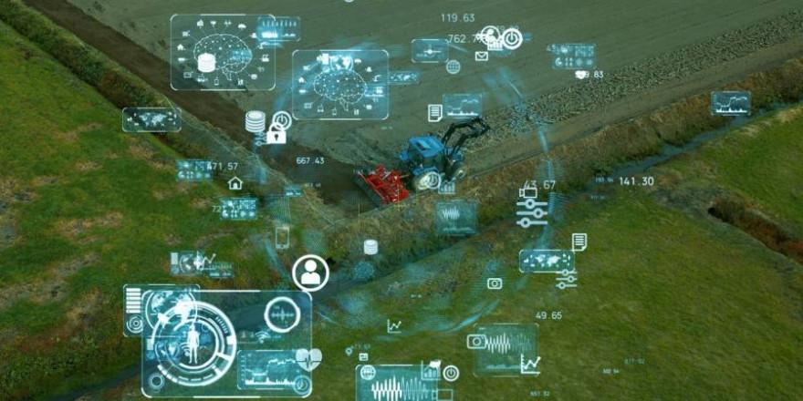 Digitalisierung der Landwirtschaft (Symbolbild: iStock/metamorworks)