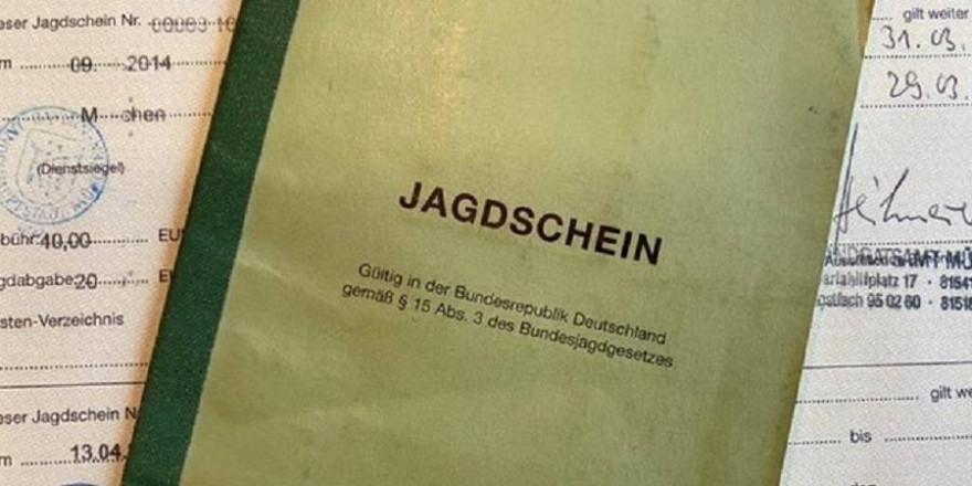 Jagdschein (Foto: BJV)