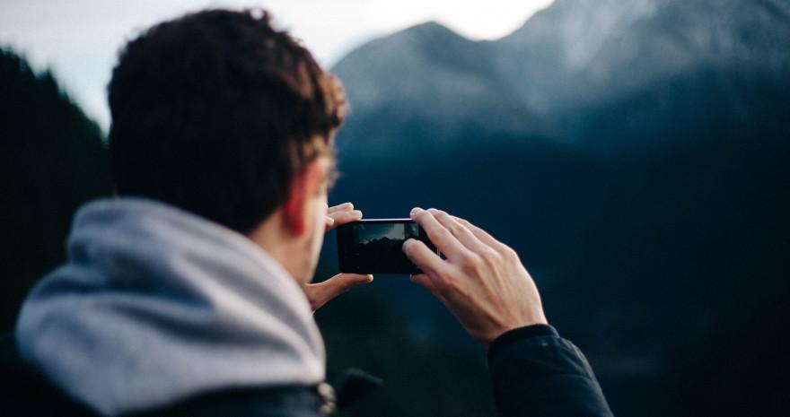 Naturfotografie mit dem Handy