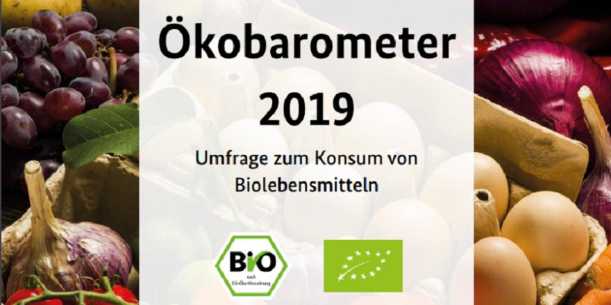 Grafik: Cover Ökobarometer 2019 (Quelle BMEL)