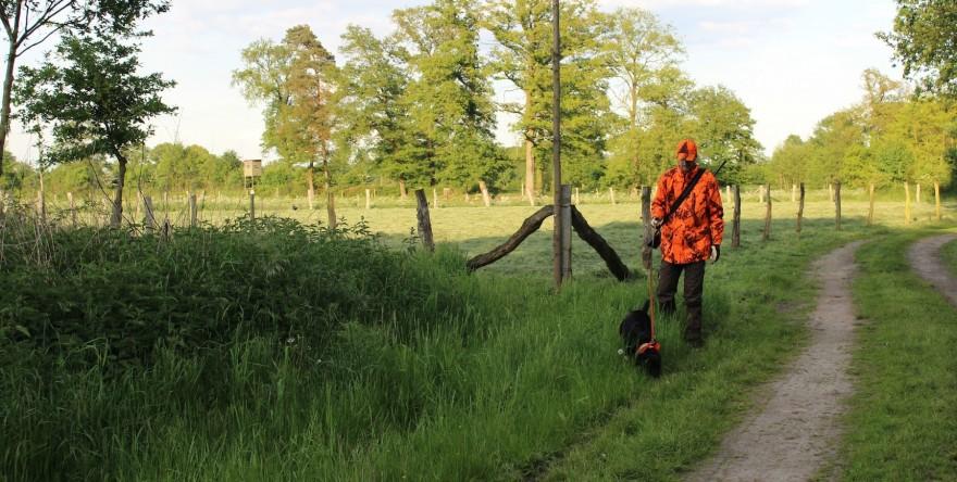 Hund und Jäger
