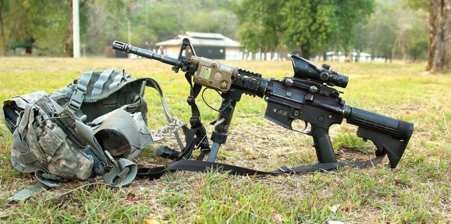 Halbautomatische Waffen wie diese sind nach dem neuen neuseeländischen Waffengesetz nun verboten (Quelle: Pexels)