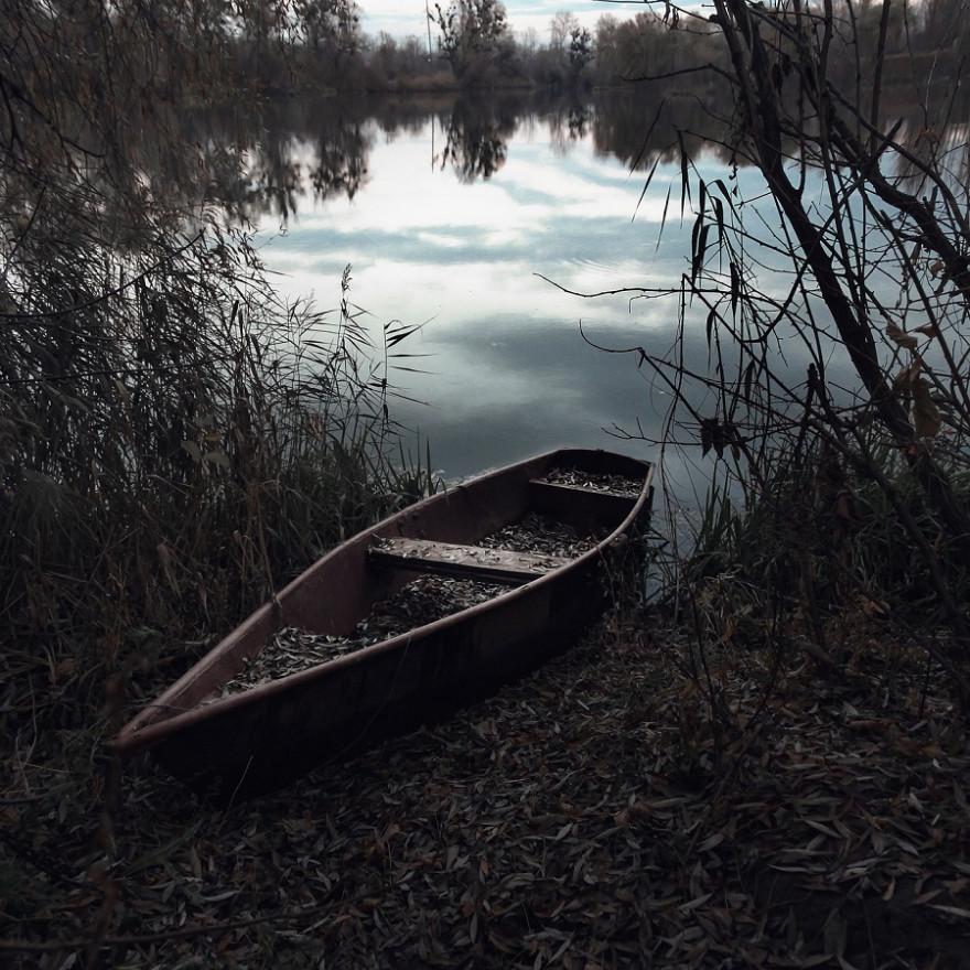 Boot an Fluss