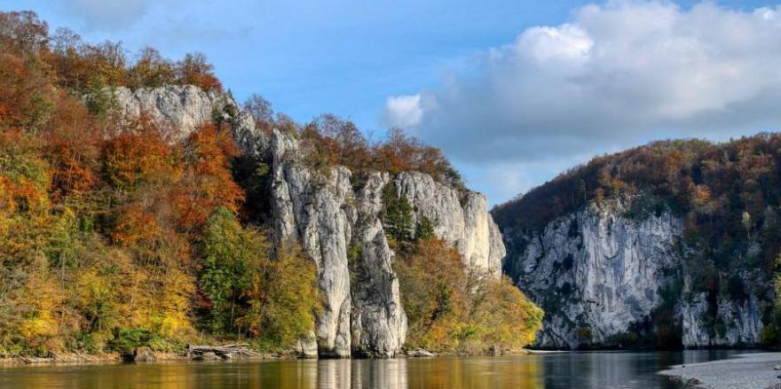"""Die """"Weltenburger Enge"""" ist """"Nationales Naturmonument"""" (Foto: Albrecht Fietz)"""