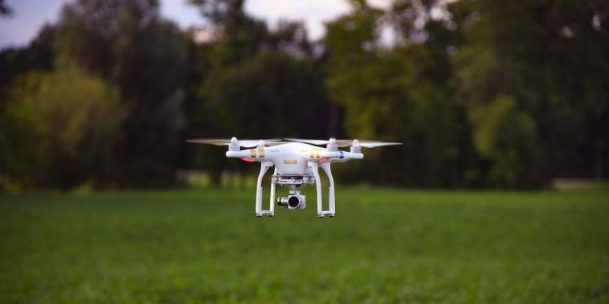Drohnen mit Wärmebildkameras werden von Jägern verwandt, um Rehkitze vor dem Tod durch den Kreiselmäher zu bewahren (Beispielbild: Martin Ecker)