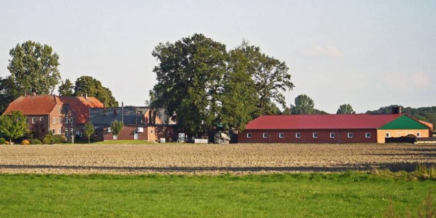 Landwirtschaftlicher Betrieb (Symbolbild: Erich Westendarp)