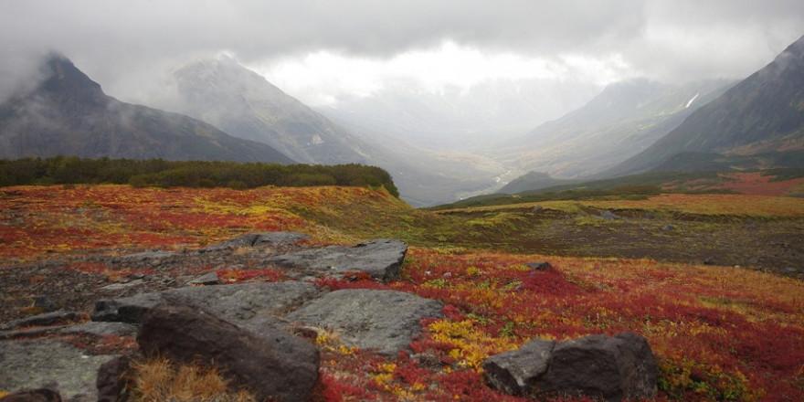 Tundralandschaft in Kamtschatka