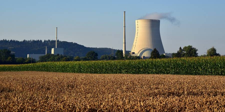 Ein Kernkraftwerk (Symbolbild: Ulrike Leone)