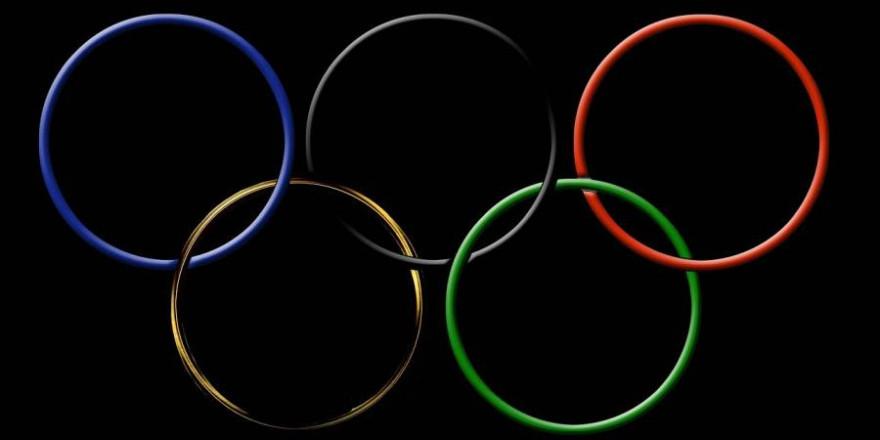 Die Olympischen Ringe (Symbolbild: Gerhard G.)