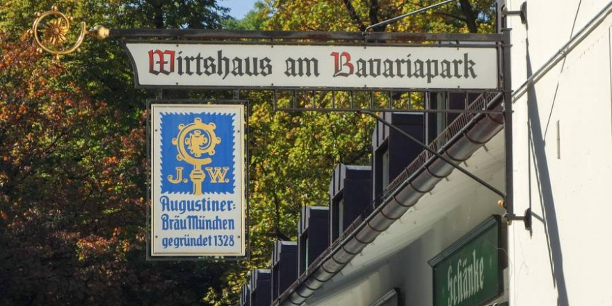 """""""Wirtshaus am Bavariapark"""" in München (Symbolbild: Christian Frank)"""