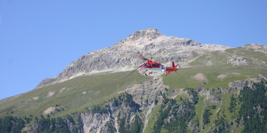 "Schweizerische Rettungsflugwacht ""Rega"" Foto: sevk"