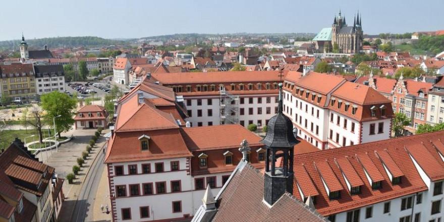 Thüringer Staatskanzlei in Erfurt (Symbolbild: wondr)