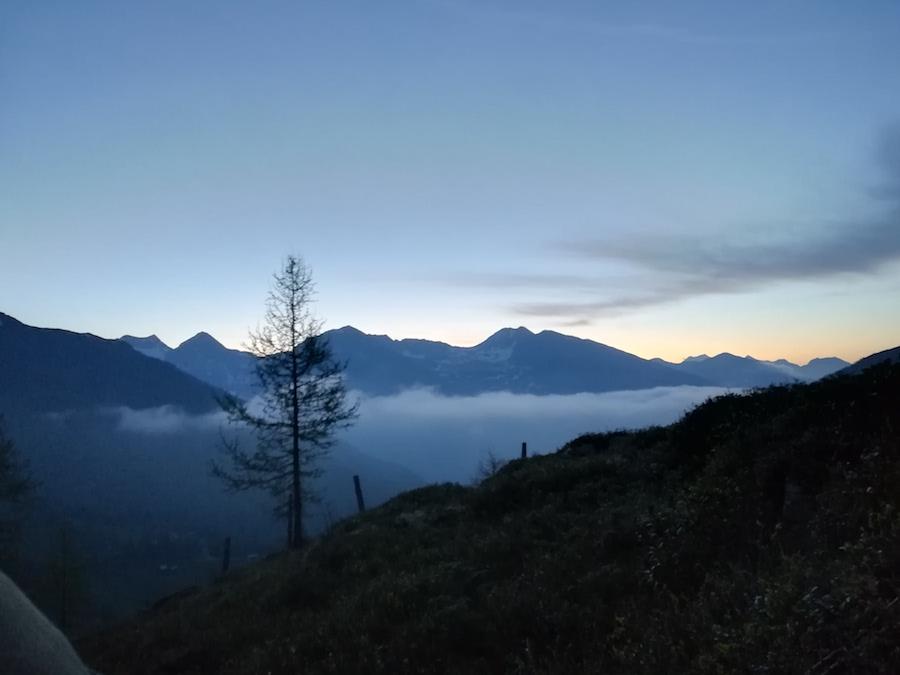 Foto: Sarah Aicher / Ein Sonnenaufgang ist besonders unverfänglich.